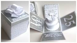 Box na srebrne wesele
