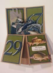 Pudełko w kartce- Ryby