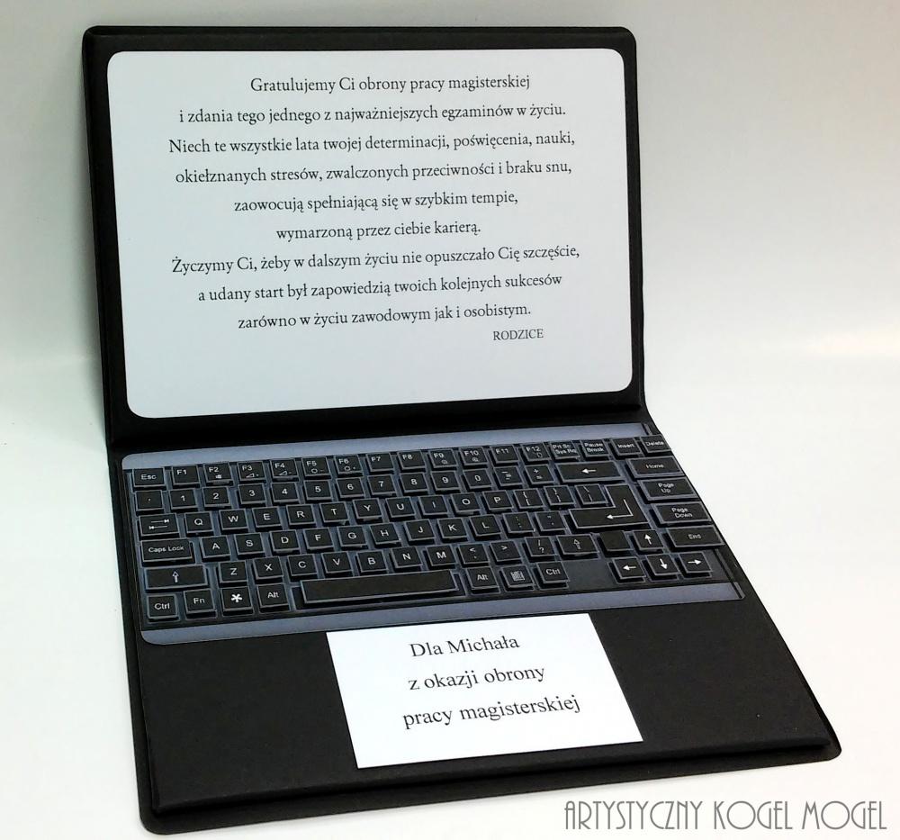Teksty Kategoria Inne Okazje Obraz Laptop Gratulacje Z Okazji Obrony Pracy Magisterskiej